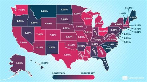 interest rate   state gobankingrates
