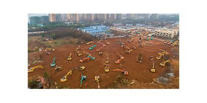 Hospital Coronavirus China Days Built Quarantine Wuhan