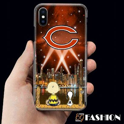 Case Phone Chicago Snoopy Bears Led Filter