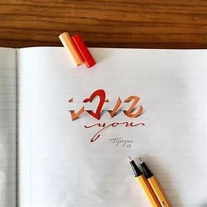 3d calligraphy by tolga girgin for 3d calligraphy by tolga girgin