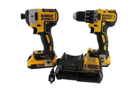 dewalt dckd max xr lithium ion brushless drill driver