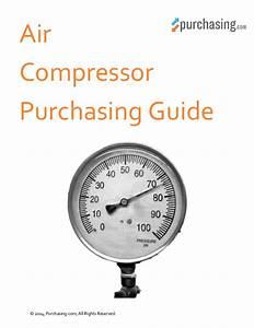 Air Compressor Purchasing Guide