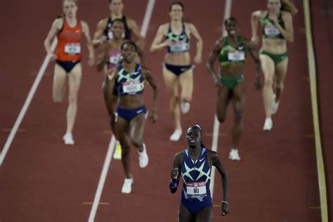 athing  dominates  final  earn olympic bid raevyn
