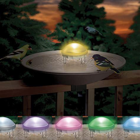 bird water wiggler bath aurora agitator lighted baths duncraft birdbath birds lights unique into backyard check feeder dynamics physics waterers