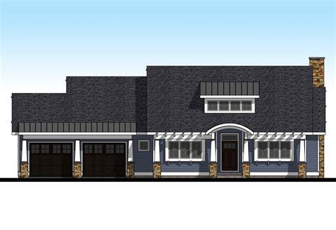 2 Bedroom Craftsman Home Plan Craftsman house plans