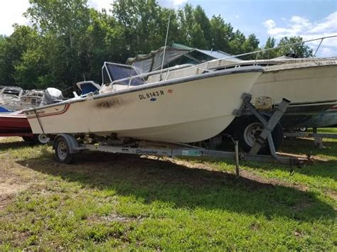 Used Boat Parts Md by 1989 Sea Pro 20 Center Console Chesapeake City Maryland