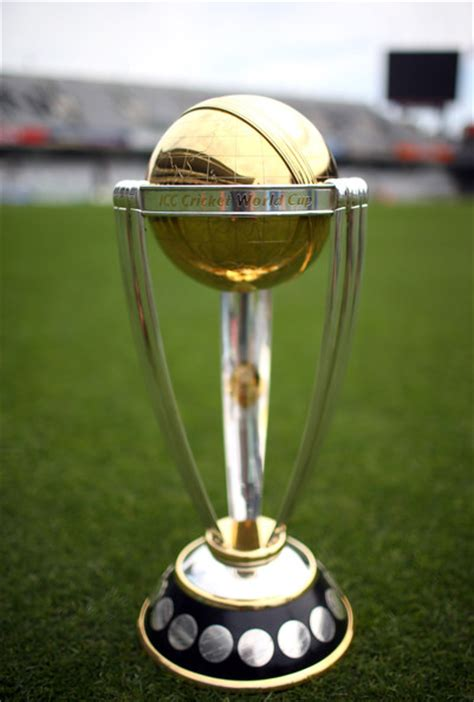 Icc World Cup Trophy Arrives In Kabul Ariana News
