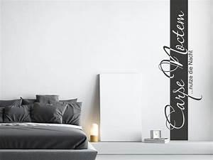 Wandtattoo Carpe Noctem : wandtattoo wandbanner carpe noctem nutze nacht klebeheld ~ Sanjose-hotels-ca.com Haus und Dekorationen