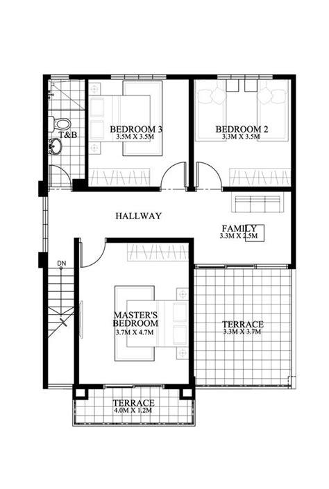 modern house plan dexter modern house plan story house plans storey house plans