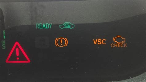 prius warning lights exclamation point toyota prius warning lights red triangle iron blog