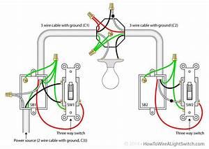 12 Volt 3 Way Switch Light Wiring Diagram