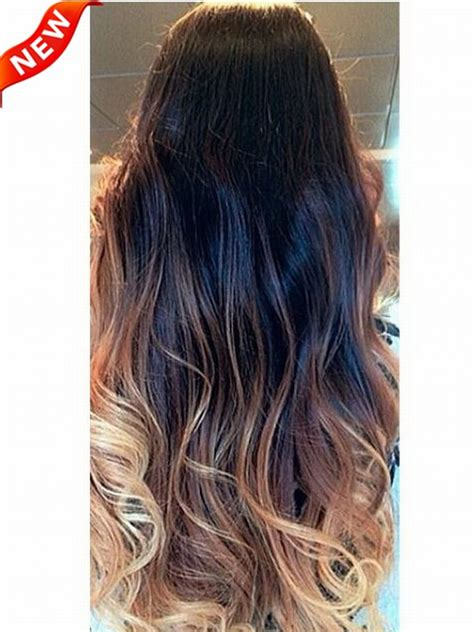 dyeable human hair extensions