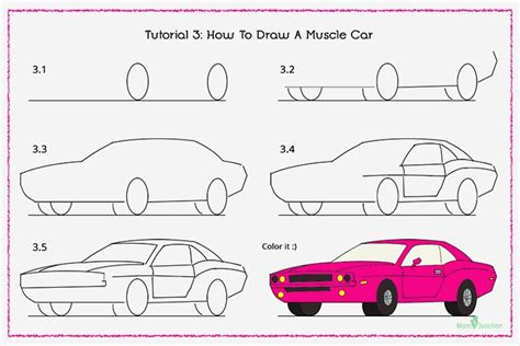 How To Draw A Car Step By Step With Pictures by How To Draw A Car Step By Step For Where Will Your