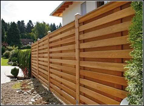 Terrasse Zaun Selber Bauen by Sichtschutz Terrasse Holz Selber Bauen Terrasse House