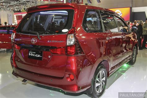 Toyota Avanza Veloz Picture by Iims 2015 Toyota Avanza Veloz Facelift From Rm54k