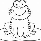 Clipart Frog Coloring Food Transparent Cartoon Webstockreview Bingo sketch template