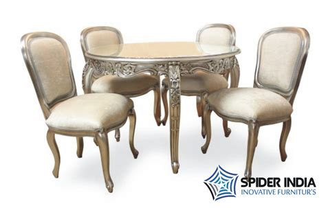 silver dining table set silver inlay dining table set silver inlay dining table