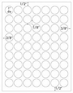 glossy clear printable sticker labels 50 sheets 1 inch With clear round labels for printing