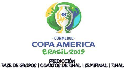 Copa América Brasil 2019   Predicción   YouTube