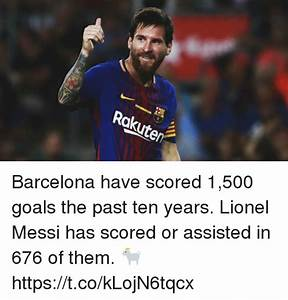 Rokute Barcelona Have Scored 1500 Goals the Past Ten Years ...