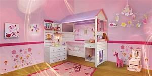 Deco Chambre Fille Princesse : chambre petite fille fee pr l vement d ~ Teatrodelosmanantiales.com Idées de Décoration