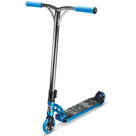 stunt scooter shop madd gear mgp vx6 team scooter blue chrome stunt scooters uk