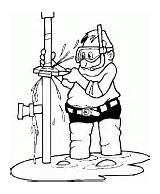 Coloring Plumber Job True sketch template