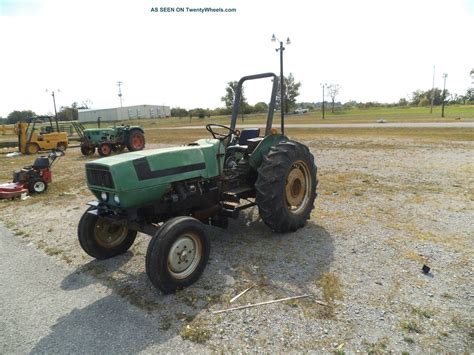 Deutz 6150 Tractor 3 Cyl Air Cooled 54 Pto Hp, Good Little
