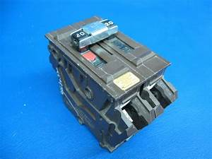 Wadsworth 220 2 Pole 20 Amp Circuit Breaker Type A