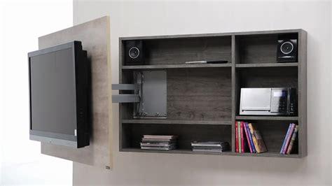 Diseño De Muebles Para Tv Giratorio De Melamina  Web Del
