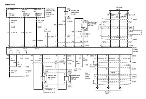1994 Mustang Stereo Wiring Diagram by 2003 2004 03 04 Mustang Mach 460 Wiring Diagram