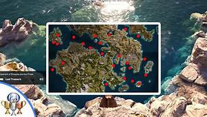 Assassin's Creed Odyssey - All 42 Underwater Location ...