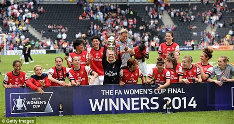 Arsenal Ladies 2-0 Everton Ladies: Gunners complete FA Cup ...
