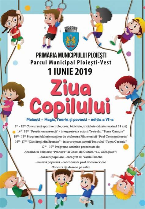 """Este 1 iunie e prima zi de vară soarele e sus pe cer e frumos afară. Festival la Ploiești, de Ziua Copilului. """"Magie, Feerie și ..."""