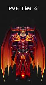 Transmogrification Warlock Pve Tier 6 Set  Wod 6 2
