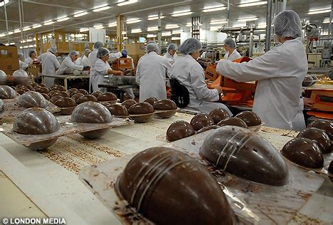 wider view   egg room   chocolate factory