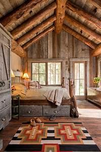 Bedroom: Attic Rustic Country Bedroom Decorating Ideas