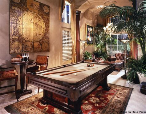 billiards rooms homes   rich