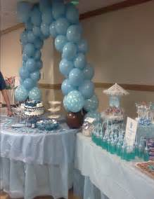 Yellow And Grey Elephant Baby Shower Decorations Photo