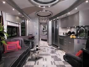 Luxury RVs Interiors