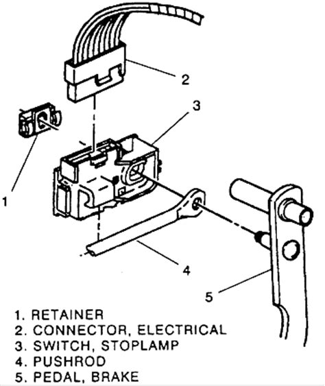 2003 Suburban Wiring Diagram Pedal by How Do You Remove The Retainer Clip For The Cruise Stop