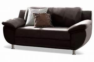 2er Sofa Günstig : leder 2er sofa rondo braun sofas zum halben preis ~ Markanthonyermac.com Haus und Dekorationen