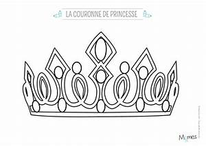 Couronne En Papier à Imprimer : coloriage une couronne de princesse ~ Melissatoandfro.com Idées de Décoration