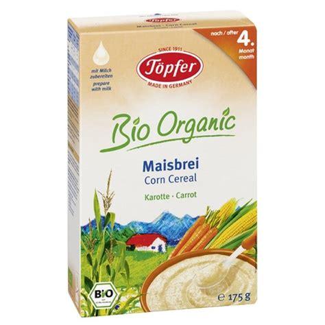 Topfer, Kaszka kukurydziana z marchewką, Bio, 175 g ...