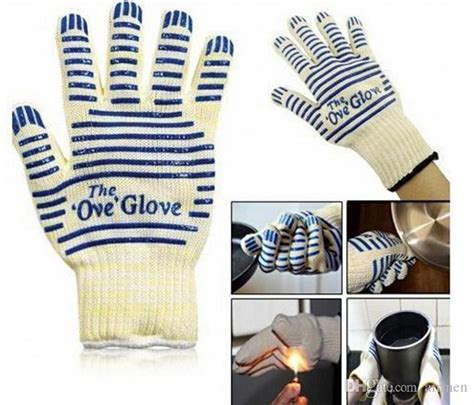 glove ove oven microwave quality proof heat handler mitt surface resistant cooking dhgate larger