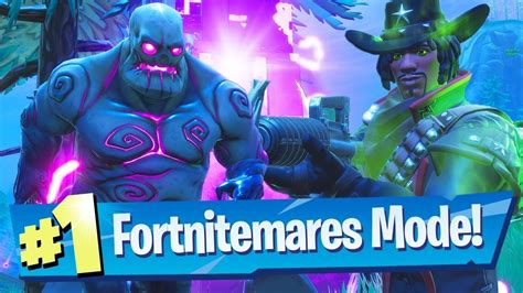 fortnitemares mode gameplay zombies  shooter