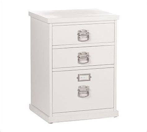 Three Drawer File Cabinet White by Bedford 3 Drawer File Cabinet Antique White Traditional