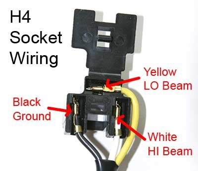 Motorcycle Headlight With Single Spdt Relay Motor