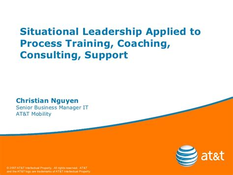 situational process training coaching consulting