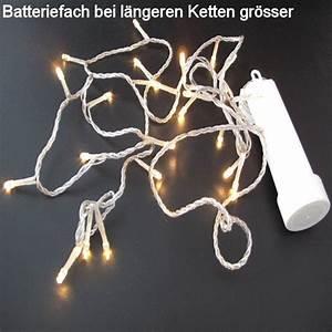 Led Batterie Lichterkette : led batterie lichterkette 24 warmweisse led aussenkette 6 stunden timer ~ Eleganceandgraceweddings.com Haus und Dekorationen